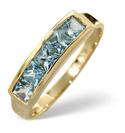 9K White Gold 0.12Ct Diamond, Amethyst Ring From Catalina Diamonds C2627
