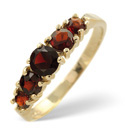 9K Yellow Gold Garnet Ring From Catalina Diamonds Y1578
