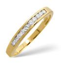 9K Yellow Gold 0.2Ct Diamond Ring From Catalina Diamonds C1661