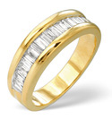 9K Yellow Gold 1Ct Diamond Ring From Catalina Diamonds C1631