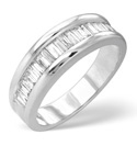 9K White Gold 1Ct Diamond Ring From Catalina Diamonds C1632