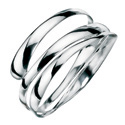 Silver Bangle From Elements Silver B2922