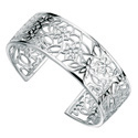Silver Bangle From Elements Silver B2924