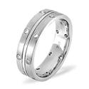 0.21CT H/SI Diamond Wedding Band Ring Palladium from Catalina Diamonds WB13-21HSP