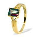 Mystic Topaz Ring 9K Yellow Gold from Catalina Diamonds Y2173
