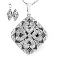 0.25CT Diamond Pendant 9K White Gold from Catalina Diamonds E2675