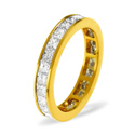 0.5CT G/VS Diamond Princess Channel Set Full Eternity Ring Platinum from Catalina Diamonds FE19-50VSQ