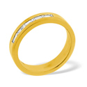 0.22CT H/SI Diamond Wedding Band Ring 18K Yellow Gold from Catalina Diamonds WB06-22HSY