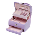 D For Diamond Silver Jewellery Box For Girls Z421