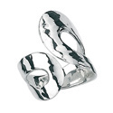Silver Ring From Elements Silver R2462